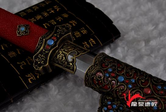 豪华镂空唐剑-夹钢(三枚合)