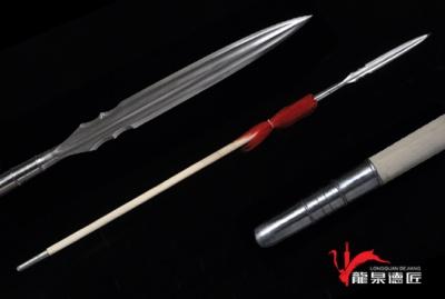 霸王枪-百炼花纹钢