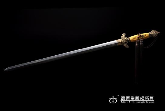 专利作品·高级别职官佩剑-羽毛钢