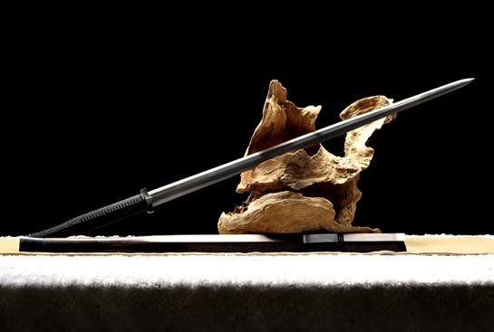 金奖作品-素铁汉剑-扭转百炼钢