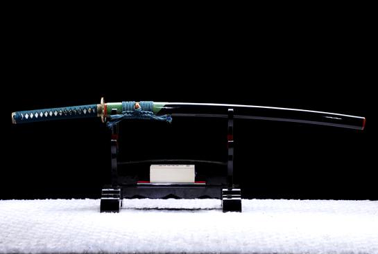 风斩居合刀-T10钢烛火刃