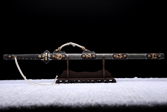 豪华麒麟唐刀-自炼钢(天眼纹)