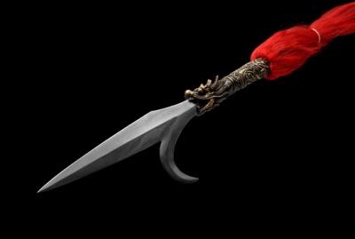 精品钩镰枪-百炼钢