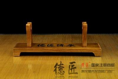 实木刀剑架-横放