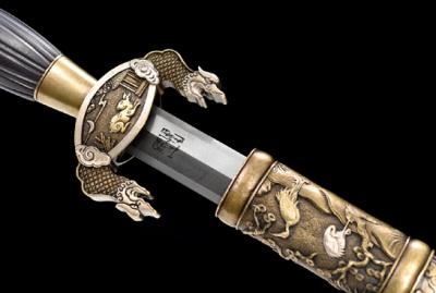 复原新作-清太祖高皇帝御用剑(又名努尔哈赤御用宝剑)—典雅版