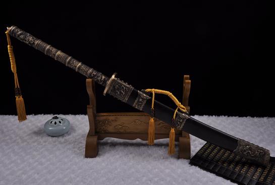 康熙御刀-百炼钢烧刃