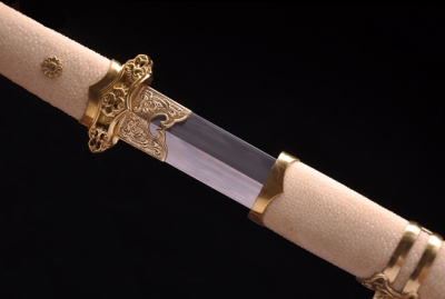 鱼皮小唐剑-夹钢(三枚合)