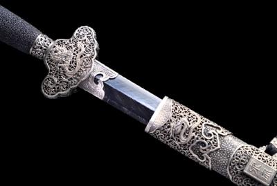 泉宗-康熙佩剑白铜版-旋焊自炼钢