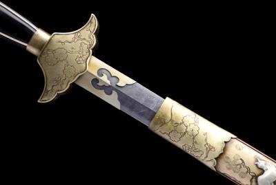 全铜十二生肖剑-典雅版-秘炼钢