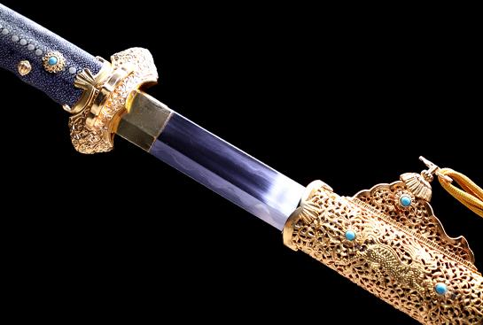 麒麟唐刀-限量版-包钢-(甲伏锻)