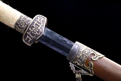 青霜双手剑-加长版-羽毛钢