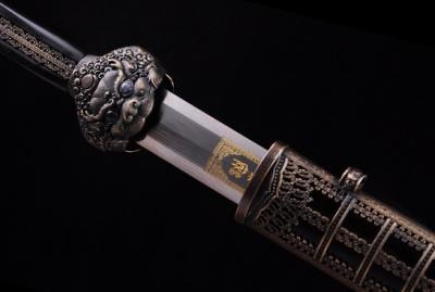 大明永乐剑-百炼花纹钢