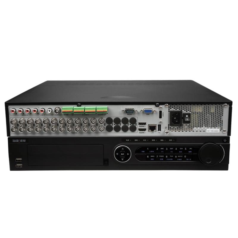 海康威视 DS-7924HQH-K4 24路同轴网络模拟三合一混合硬盘录像机