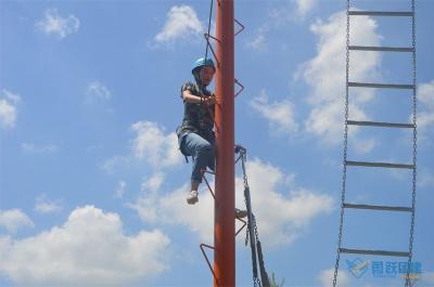 《空中断桥》高空拓展课程