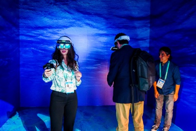 MR Holographic Museum on display at CES in January 2020