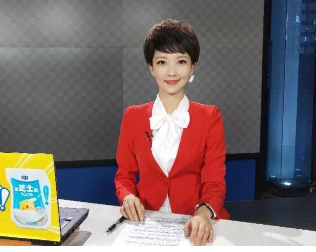 河南电视台都市频道主持人杨新...