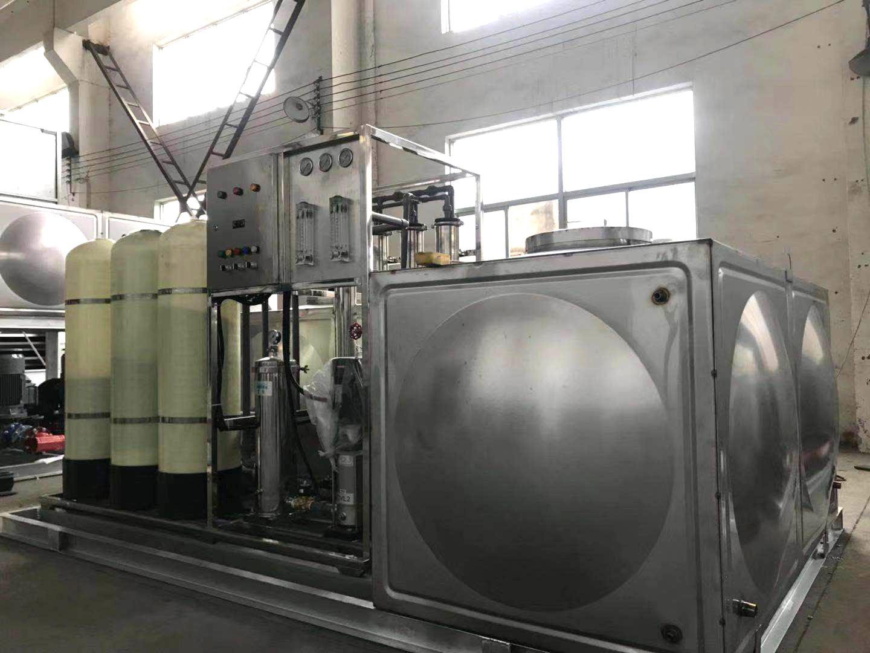 不锈钢水箱水泵集成