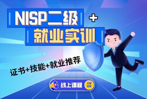 NISP二级+实训+就业推荐