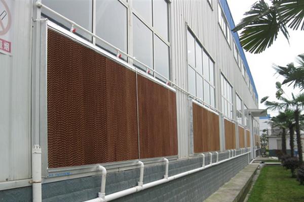 降温水帘墙不湿水的解决方法