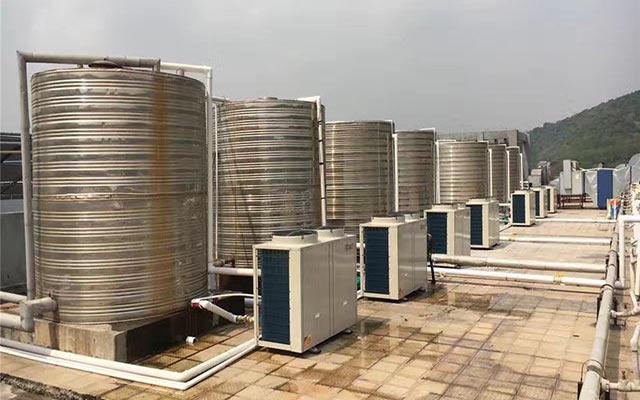 学校热水设备选土禾空气能,满足全校师生生活热水需求