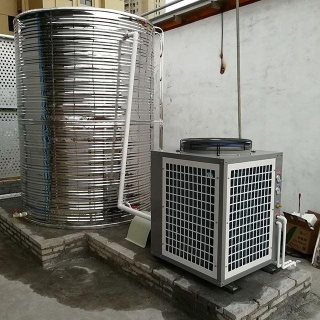 广州迎宾宾馆热水采用土禾空气能,获住客户五星好评!