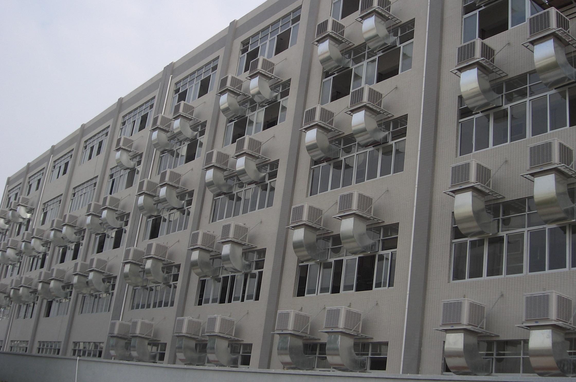 土禾环保空调通风降温管道设计与风口设计