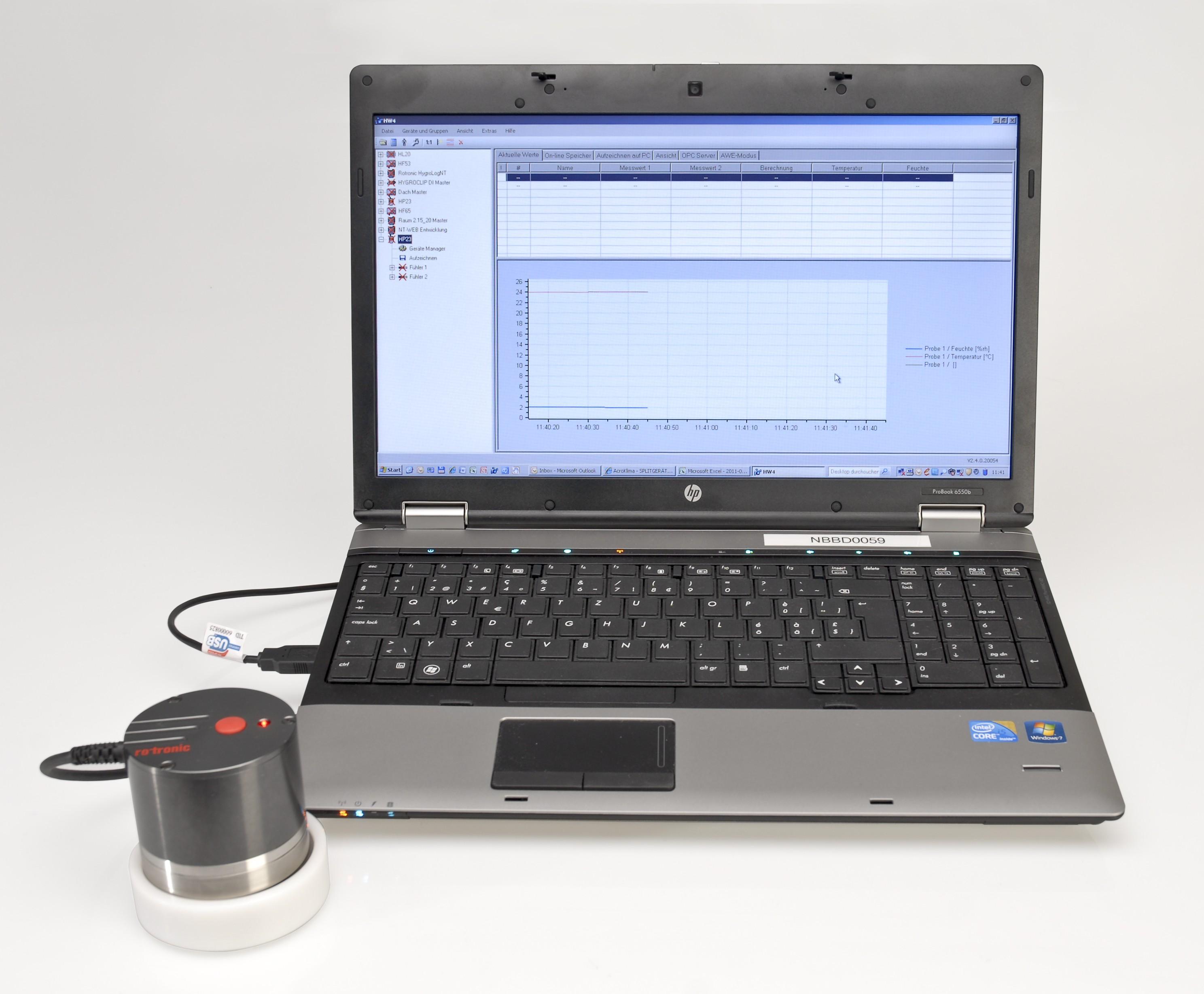 USB水活性测量仪HC2-AW-USB-SW