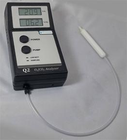 Q2便携式氧气二氧化碳顶空分析仪