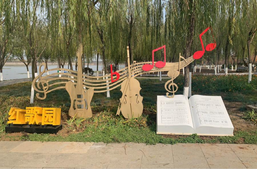 河南郑州宏杰党建雕塑