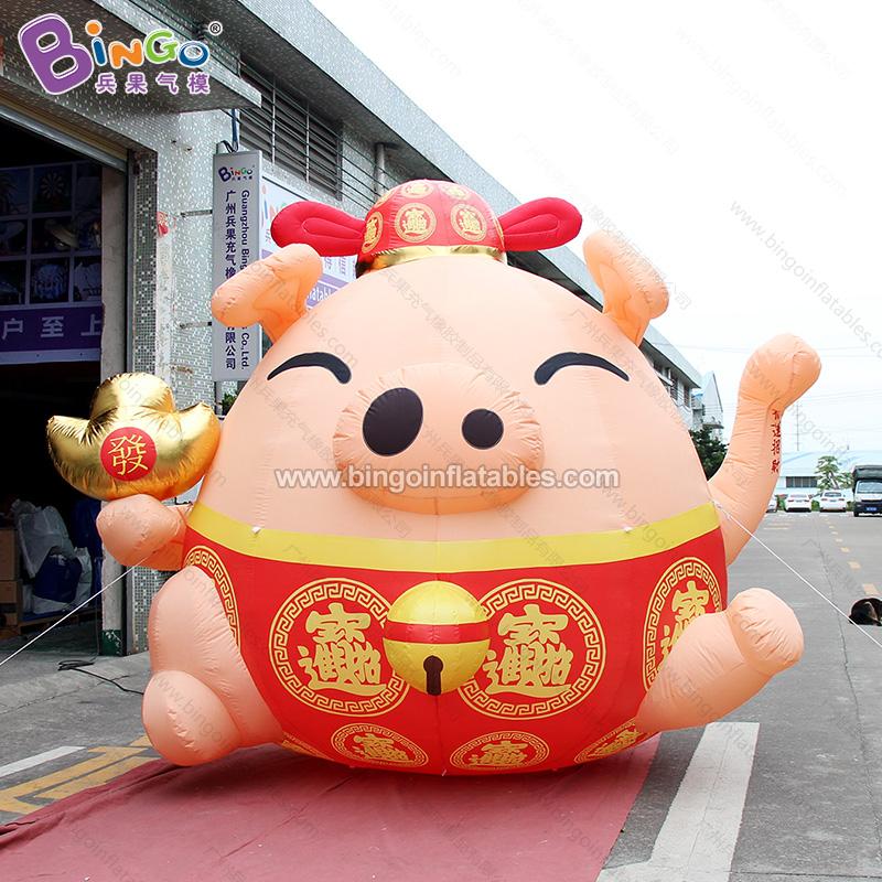 BG-C0239-充气招财猪气模