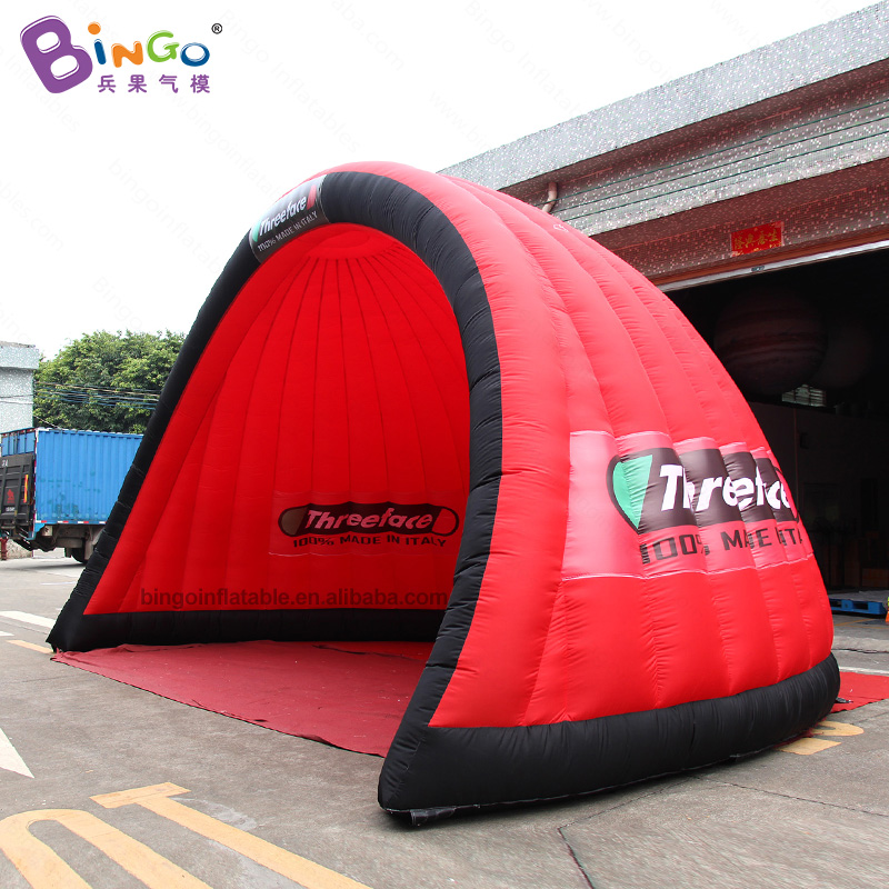 BG-T0201-Inflatable-red-semicircular-tent