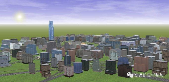 广州市天河区仿真模型分享
