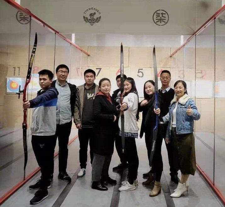 学塾加软件团队开展射箭集训活动