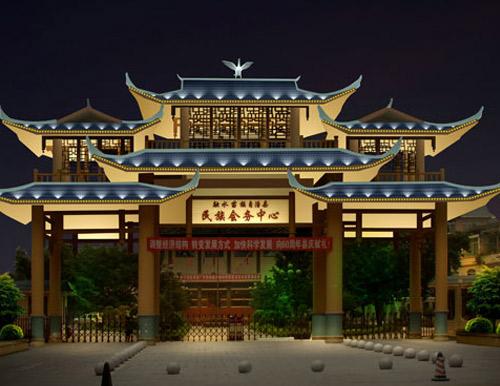柳州融水灯光规划