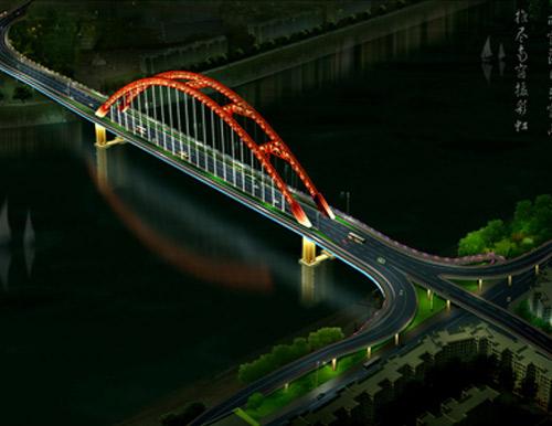广西大桥照明设计