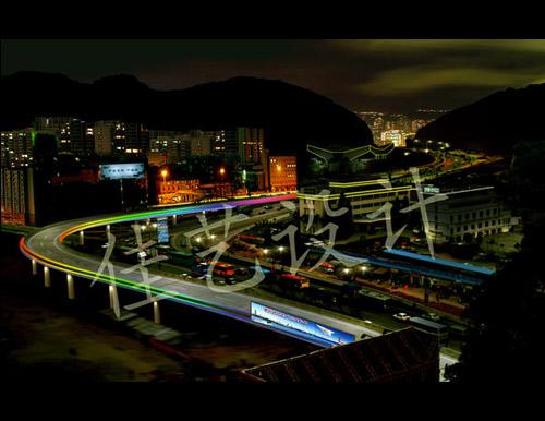 惠州立交灯光规划设计