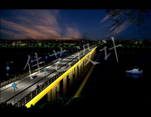 惠州东江大桥灯光设计