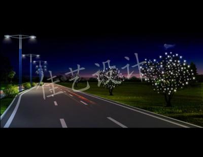 道路灯光设计