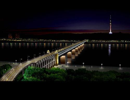 桥梁灯光设计