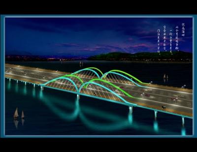 倒水坳大桥灯光设计