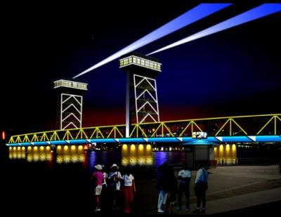 海门大桥灯光设计