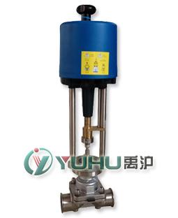 电动卫生隔膜调节阀