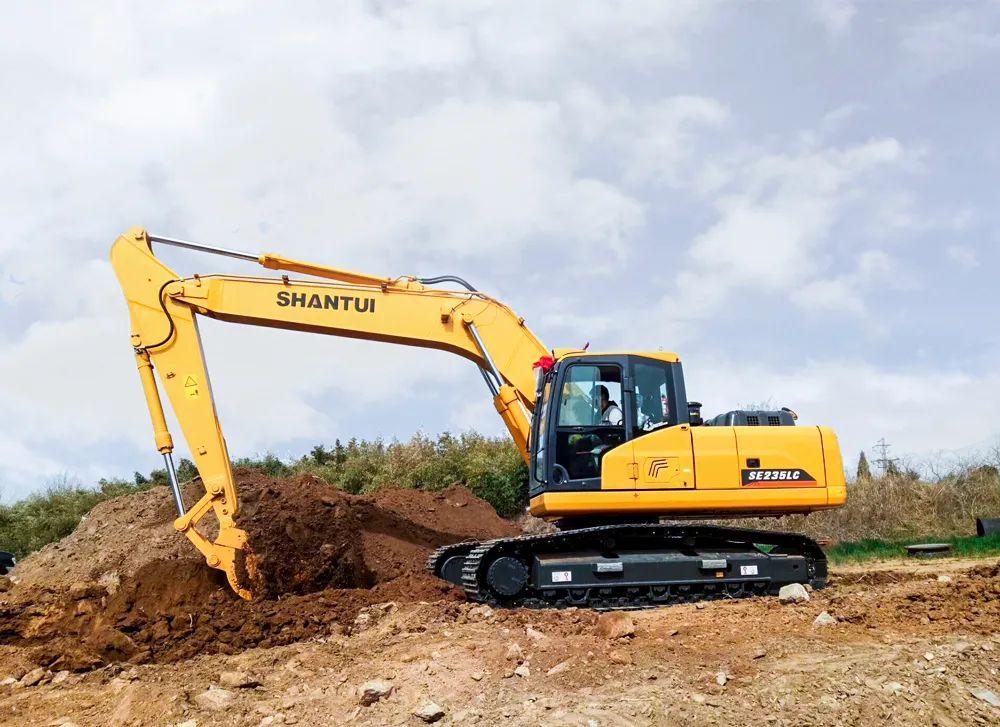 山推SE235LC-9——高效率、高质量