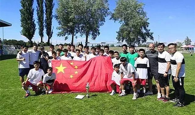 加油少年!中国U-13闪耀捷克国...