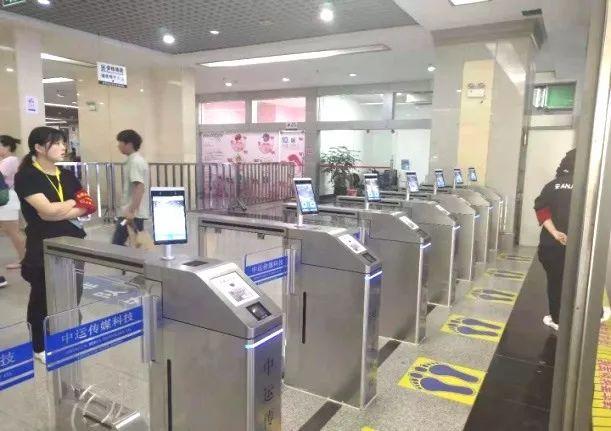 昆明北部客运站启用中运科技人脸识别验票系...