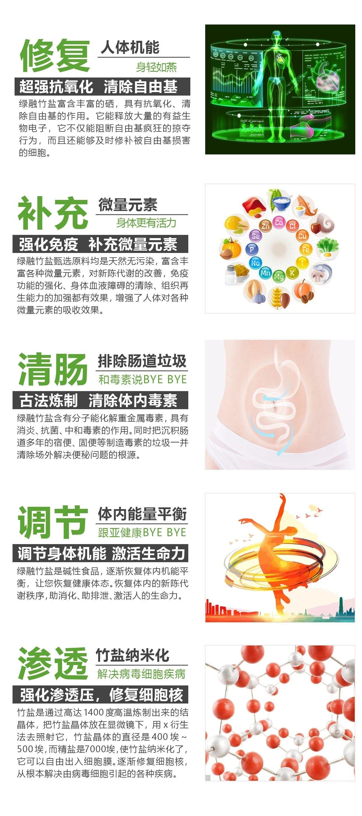 常饮竹盐水,健康自然来