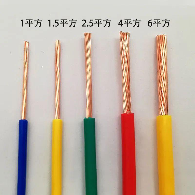 电线拥有不同粗细规格